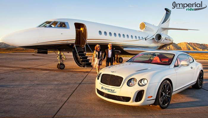 BENTLEY FLYING SPUR Hire for Airportansfers