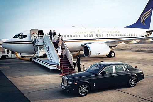 Rolls Royce Phantom Airport Transfers