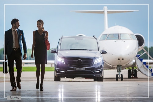 Mercedes V Class airport transfers