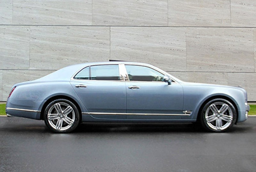 Hire BENTLEY MULSANNE CHAUFFEUR