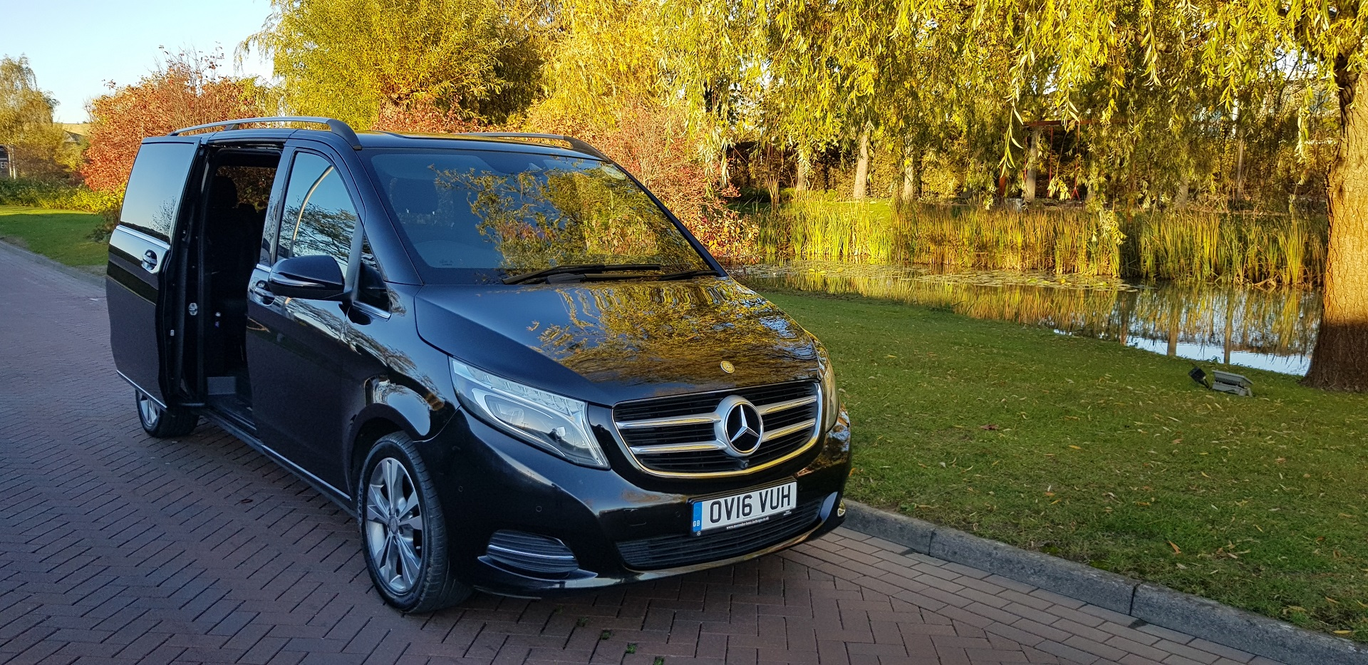Mercedes V Class hire london